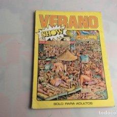 Cómics: NACIONAL SHOW - EXTRA VERANO SHOW EDITA : EDICIONES CUMBRE 1977 ( HUMOR ). Lote 155860378