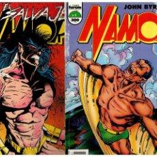 Cómics: NAMOR -JOHN BYRNE- COMPLETA 1 AL 14 TOMOS. FORUM,1990.. Lote 155864014