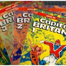 Cómics: CAPITÁN BRITANIA -COMPLETA,TOMOS 1 AL 4- FORUM,1990. EDICIÓN PRESTIGIO NºS.-19,20,21 Y 23.. Lote 155864686
