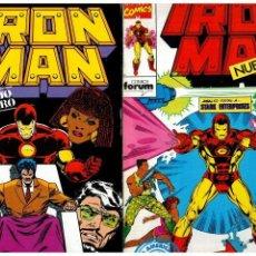 Cómics: IRON MAN VOL.2 -COMPLETA 1 AL 15- FORUM,1992. EXCELENTES.. Lote 155865154