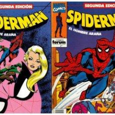 Cómics: SPIDERMAN. SEGUNDA EDICIÓN. -COMPLETA 1 AL 18- FORUM,1994. EXCELENTES.. Lote 155865810