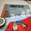Cómics: SABOTAJE DANIEL TORRES COLECCIÓN LOS ÁLBUMES DE CAIRO Nº 15 NORMA EDITORIAL 1988. Lote 155899730
