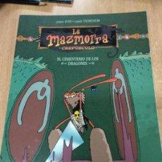 Cómics: LA MAZMORRA. CREPÚSCULO. EL CEMENTERIO DE LOS DRAGONES. JOANN . Lote 155916214