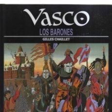 Cómics: VASCO LOS BARONES. Lote 155932878