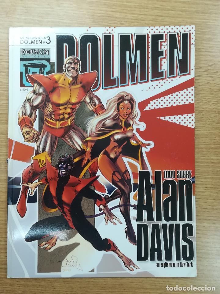 MONOGRAFICOS DOLMEN #3 ALAN DAVIS (Tebeos y Comics - Comics otras Editoriales Actuales)