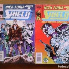 Cómics: NICK FURIA AGENTE DE SHIELD. LOTE DEL 1 AL 9 . Lote 155962346