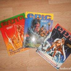 Cómics: EPIC - 3 NUMEROS / COLECCION COMPLETA. Lote 155978770