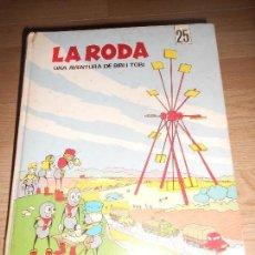 Cómics: LA RODA UNA AVENTURA DE BIBI I TOBI - L' OCELL DE PAPER - EN CATALAN. Lote 155982826