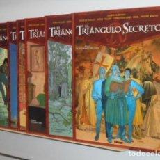 Cómics: EL TRIANGULO SECRETO COMPLETA 7 TOMOS DIDIER CONVARD - GLENAT - OFERTA. Lote 155983178