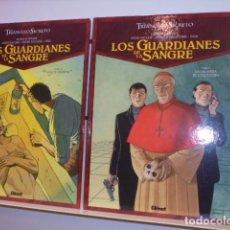Cómics: EL TRIANGULO SECRETO LOS GUARDIANES DE LA SANGRE 2 TOMOS Nº 1 Y 2 - GLENAT - . Lote 155984318