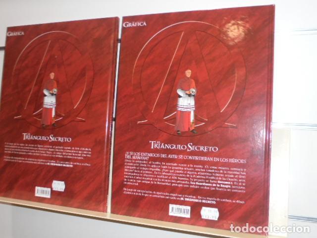 Cómics: EL TRIANGULO SECRETO LOS GUARDIANES DE LA SANGRE 2 TOMOS Nº 1 Y 2 - GLENAT - - Foto 2 - 155984318
