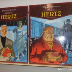 Cómics: EL TRIANGULO SECRETO HERTZ 2 TOMOS COMPLETA - GLENAT - OFERTA. Lote 155984798