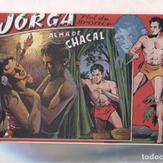 Cómics: FACSIMIL: JORGA PIEL DE BRONCE NUMERO 03: ALMA DE CHACAL. Lote 155986198