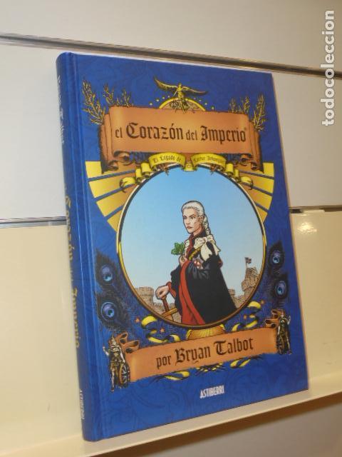 EL CORAZON DEL IMPERIO TOMO TAPA DURA EDICION INTEGRAL BRYAN TALBOT - ASTIBERRI - OFERTA (Tebeos y Comics - Comics otras Editoriales Actuales)