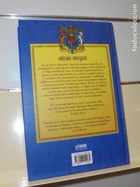 Cómics: EL CORAZON DEL IMPERIO TOMO TAPA DURA EDICION INTEGRAL BRYAN TALBOT - ASTIBERRI - OFERTA - Foto 2 - 155987958