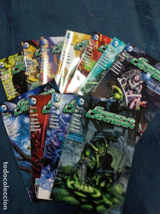 GREEN LANTERN GEOFF JOHNS NUMEROS 1 AL 11 - ECC (Tebeos y Comics - Comics otras Editoriales Actuales)
