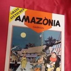 Cómics: GABRION. AMAZONIA. GRANDES AVENTURAS. Nº 2. BARCANOVA.1990. 1ª EDICIÓ. EN CATALÁ. Lote 155998226
