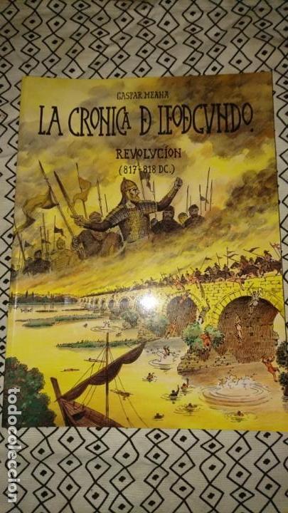 LA CRÓNICA DE LEODEGUNDO N 16 REVOLUCIÓN EN ASTURIANO (Tebeos y Comics Pendientes de Clasificar)