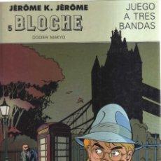 Cómics: BLOCHE DODIER-MAKYO JUEGO A TRES BANDAS N,5. Lote 156088850
