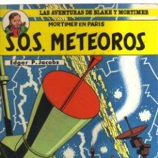 Cómics: S.O.S.METEOROS EDGAR P.JACOBS. Lote 156090002