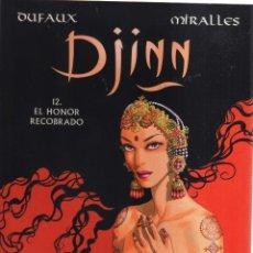 Cómics: DJINN EL HONOR RECOBRADO 12. Lote 156092570