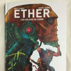 Cómics: ETHER 2. LOS GÓLEMS DE COBRE - MATT KINDT, DAVID RUBÍN - ASTIBERRI. Lote 156147468