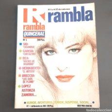 Cómics: RAMBLA , NUMERO 1 1984. Lote 156177497