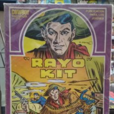 Cómics: RAYO KIT. COLECCION COMPLETA 12 Nº.1982 EN BUEN ESTADO. EDICION URSUS. Lote 156198154