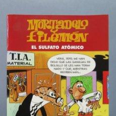 Cómics: MORTADELO Y FILEMÓN. EL SULFATO ATOMICO. Lote 156462650