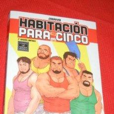 Cómics: HABITACION PARA CINCO. JIRAIYA. LA CÚPULA COMIX 2008. Lote 156485614
