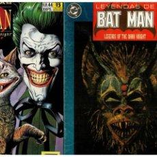Cómics: BATMAN: LEYENDAS - LOTE DE 35 NÚMEROS - ZINCO,1990. LEER. Lote 156557218