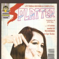 Comics : SPLATTER - Nº 6 - EDITORIAL MAKOKI S.A PRESENTA - 1991 - . Lote 156900906