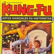 Cómics: KUNG-FU-ARTES MARCIALES EN HISTORIETAS-Nº 53 -J.BERNET-LEOPOLDO Y JOSÉ ORTIZ-1978-BUENO-LEAN-0610. Lote 156994513