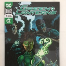 Cómics: GREEN LANTERNS 7 - DIGGLE, GILLESPIE, PERKINS, CLIQUET, ANTONIO - ECC. Lote 156999084