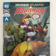 Cómics: AQUAMAN 26 / 12 - WILLIAMS, ABNETT, JOSÉ LUÍS, BENNETT - ECC. Lote 156999261