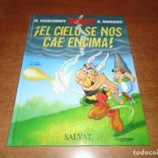 Cómics: ASTERIX Y OBELIX: EL CIELO SE NOS CAE ENCIMA. TAPA DURA. SALVAT 2005. Lote 157073346