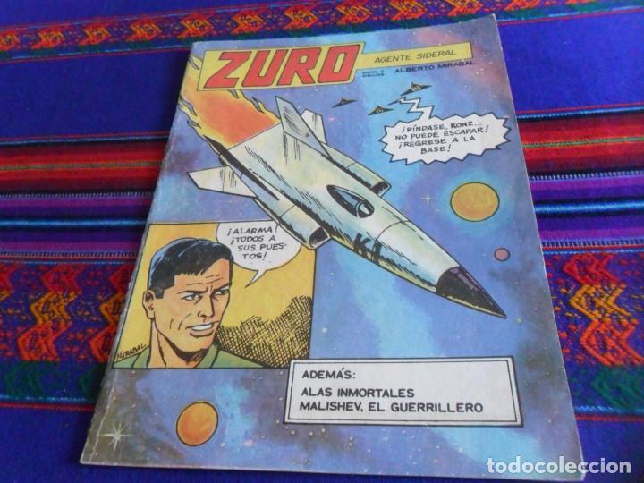 CÓMIC CUBANO PROPAGANDISTA DEL COMUNISMO, ZURO AGENTE SIDERAL. EDITORIAL ORIENTE 1986. RARO. (Tebeos y Comics - Comics otras Editoriales Actuales)
