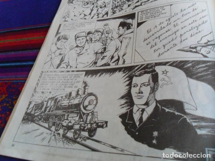 Cómics: CÓMIC CUBANO PROPAGANDISTA DEL COMUNISMO, ZURO AGENTE SIDERAL. EDITORIAL ORIENTE 1986. RARO. - Foto 6 - 157263330