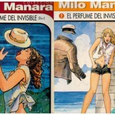 Comics: COLECCIÓN MILO MANARA. EL PERFUME DEL INVISIBLE. COMPLETA TOMOS 1 Y 2. NORMA,1999. NUEVOS.. Lote 157282794