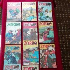 Cómics: LOTE ZORRO (X11 UNIDADES) - 1ª SÉRIE - EBAL 1979. Lote 157322914