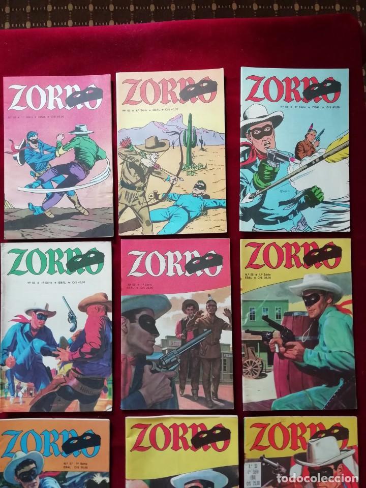 Cómics: Lote Zorro (x11 unidades) - 1ª Série - EBAL 1979 - Foto 4 - 157322914