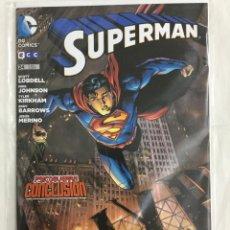 Cómics: SUPERMAN 24 (GRAPA) - LOBDELL, JOHNSON, KIRKHAM, BARROWS, MERINO- ECC EDITORIAL. Lote 157327790