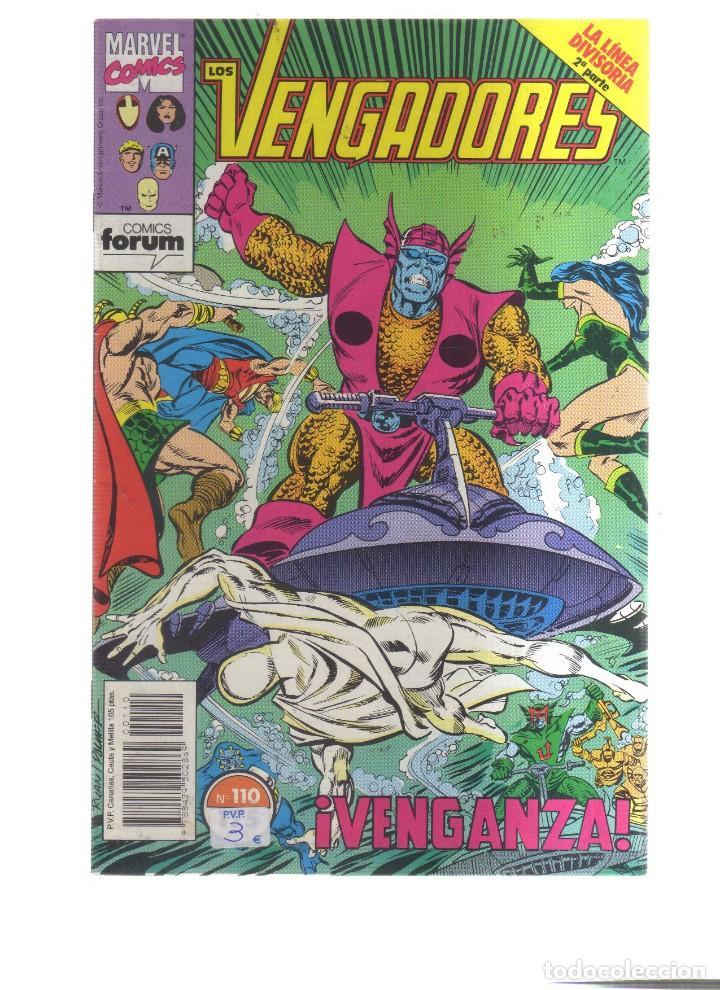 LOS VENGADORES FORUM N,110 (Tebeos y Comics - Comics otras Editoriales Actuales)