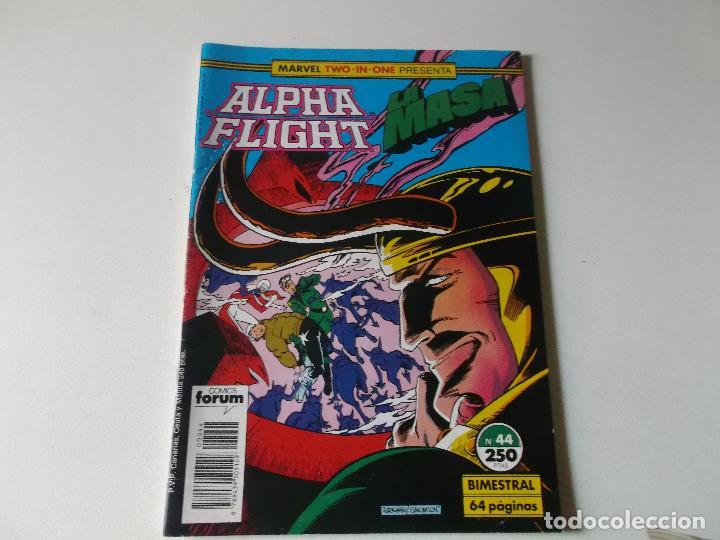 ALPHA FLIGHT LA MASA NUMERO 44 (Tebeos y Comics Pendientes de Clasificar)