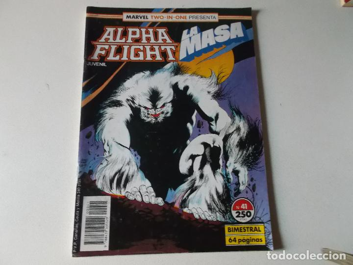 Cómics: ALPHA FLIGHT LA MASA NUMERO 41 - Foto 1 - 157850502