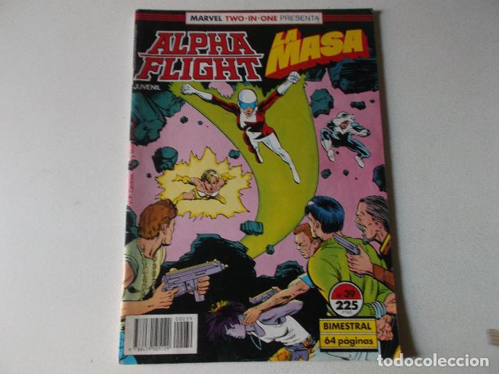 ALPHA FLIGHT LA MASA NUMERO 39 (Tebeos y Comics Pendientes de Clasificar)