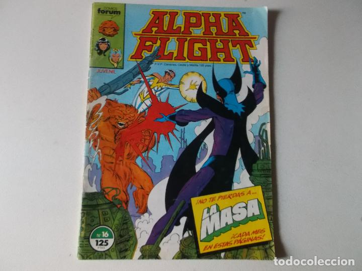 Cómics: ALPHA FLIGHT LA MASA NUMERO 16 - Foto 1 - 157851650