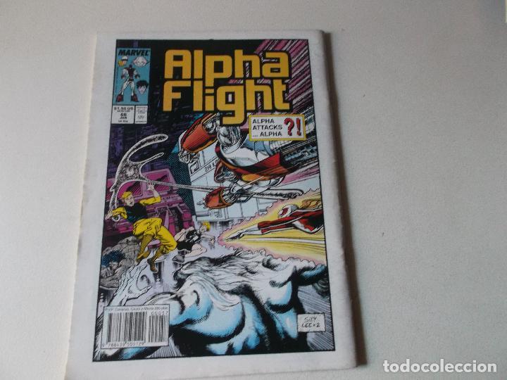 Cómics: ALPHA FLIGHT LA MASA NUMERO 57 - Foto 2 - 157853562