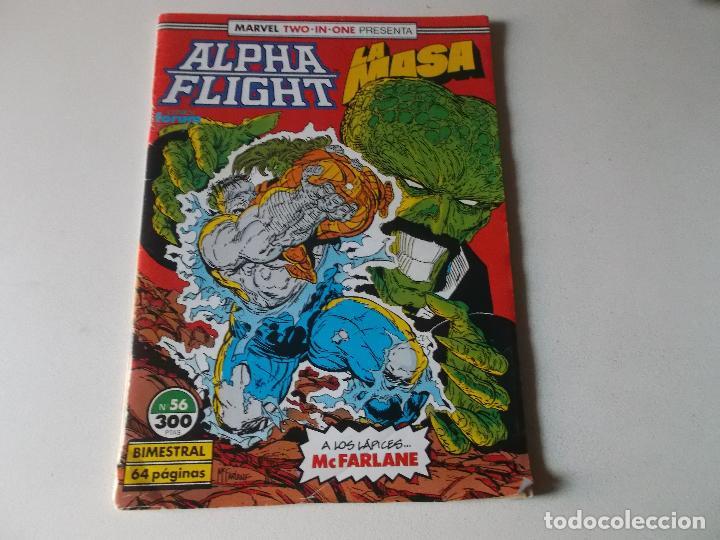 ALPHA FLIGHT LA MASA NUMERO 56 (Tebeos y Comics Pendientes de Clasificar)