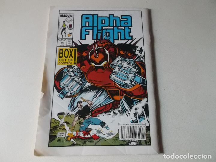 Cómics: ALPHA FLIGHT LA MASA NUMERO 56 - Foto 2 - 157854050